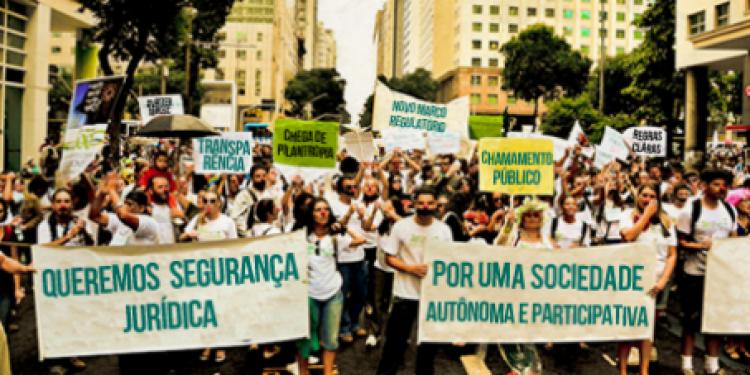 Na luta por um Novo Marco Regulatório para as Organizações da Sociedade Civil