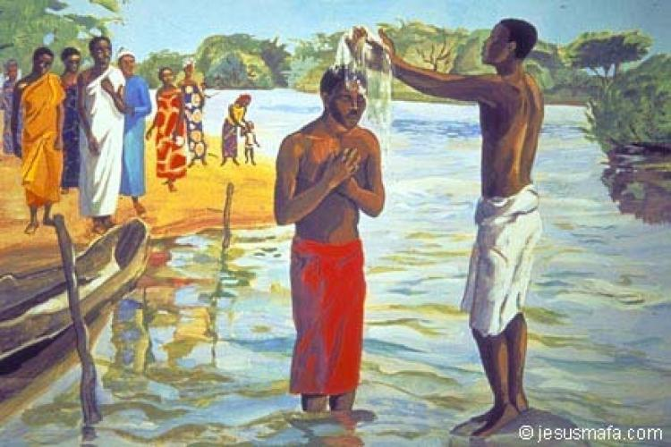 Marcos 1.4-11: Batismo coloca-nos na missão solidária com as pessoas que lutam [Teobaldo Witter]