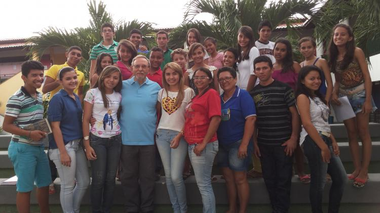 Curso de Bíblia com jovens em Acopiara – CE