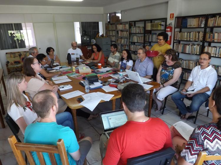 Conselho Nacional do CEBI reunido em São Leopoldo – RS