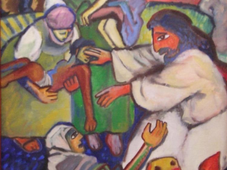 Mc 6.1-13: Envio missionário: anúncio, toque e cura com óleo. [Mercedes Lopes]