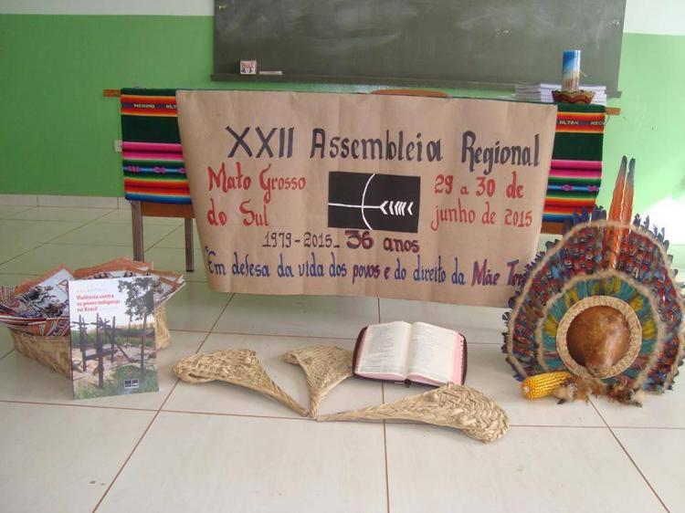 CEBI-MS: Presença na Assembleia do Conselho Indigenista Missionário