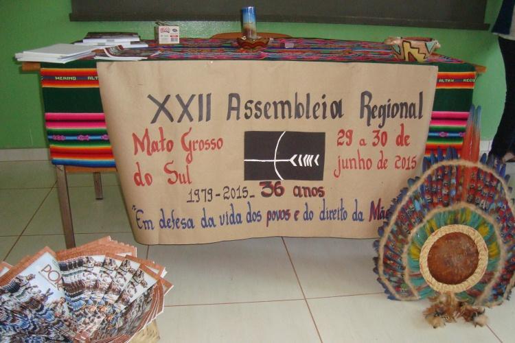 CEBI-MS assina nota em apoio aos Guarani Kaiowá