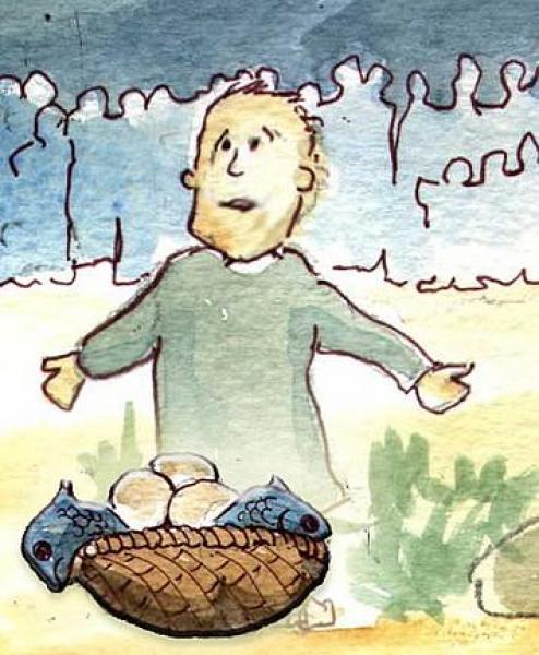 O protagonismo da criança presente (João 6,1-15) [Regene Lamb]