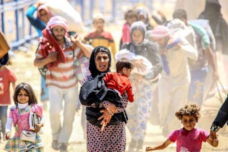 Migração de refugiados da guerra da Síria chega a mais de 5 mil em um único dia