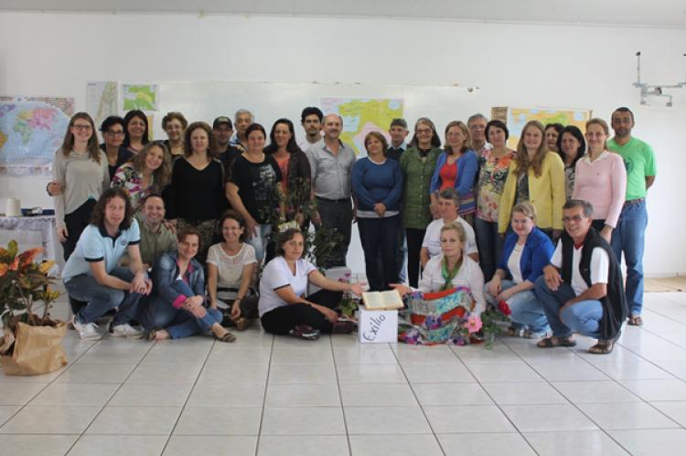 CEBI-SC realiza a quarta etapa da Escola Bíblica em Chapecó
