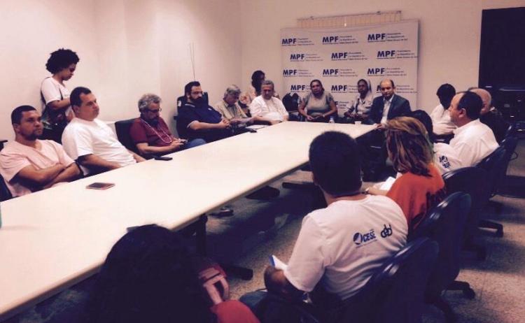 Missão Ecumênica de apoio aos Guarani-Kaiowá é recebida pelo Ministério Público Federal em MS
