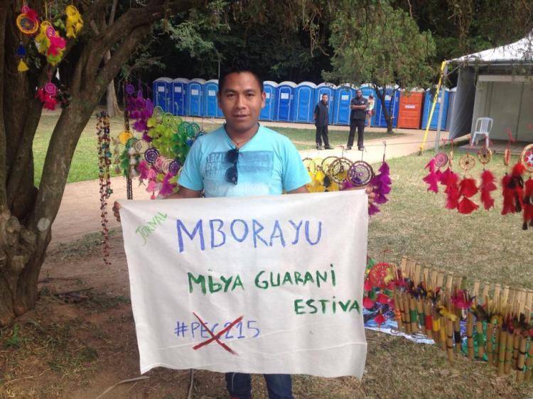 Indígenas Mbya Guarani lançam jornal feito pela comunidade