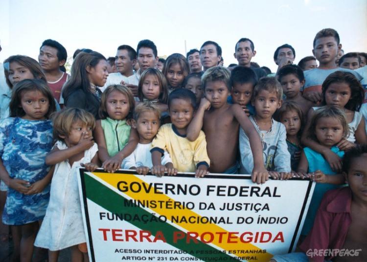 Povos indígenas do Brasil: situação cada vez pior!