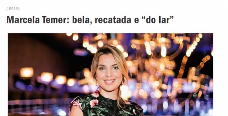 A ridícula tentativa da Veja de fazer de Marcela Temer a 'primeira dama perfeita'