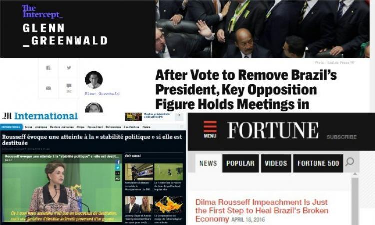 Pesquisa: mídia internacional tende a posição favorável sobre Dilma