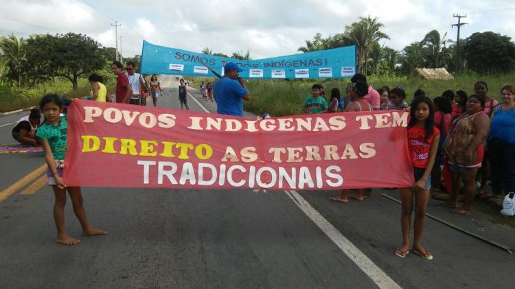 Contra genocídio, indígenas Gamela e Guajajara ocupam rodovias no Maranhão