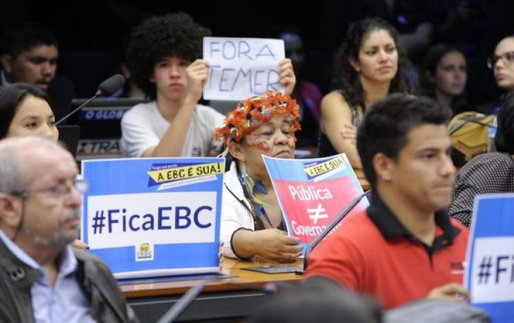 Minorias são as maiores vítimas do desmonte da EBC
