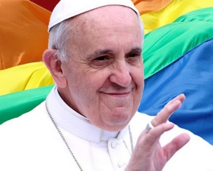 """Papa: """"A Igreja deve pedir perdão aos gays"""""""