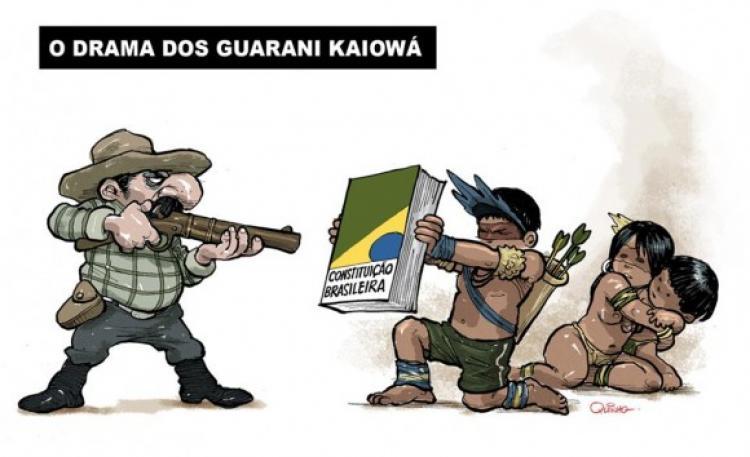 """Jesuítas cobram das autoridades medidas sobre """"processo de genocídio"""" contra os Guarani e Kaiowá"""