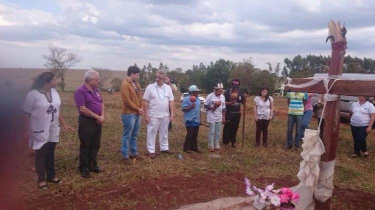 Missão Ecumêmica em apoio aos Guarani-Kaiowá MS