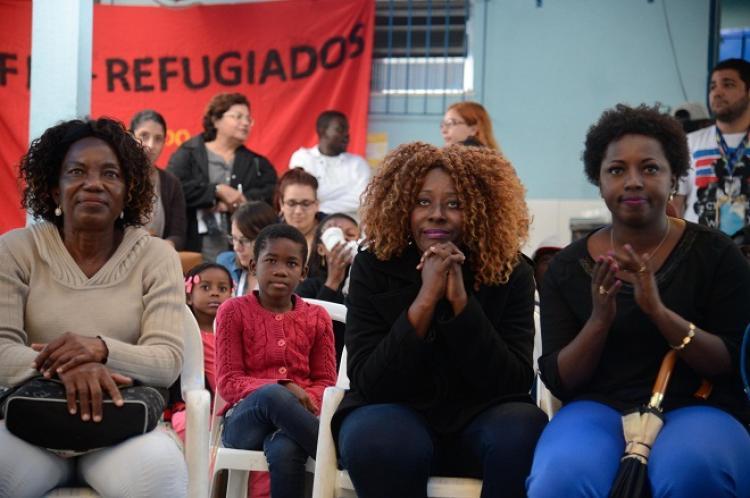 'Tem lugar no mundo para nós', diz refugiada sobre a Rio 2016
