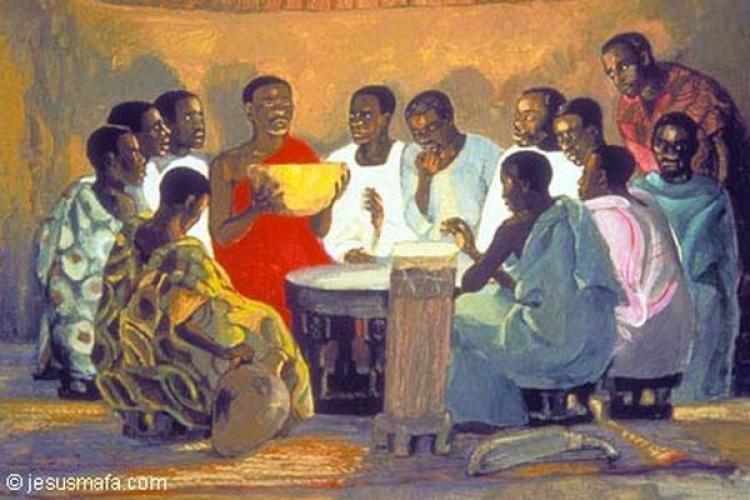 Convidar para espiar… (Lucas 14,1.7-14) [Tea Frigerio]