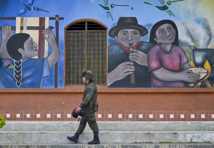 Primeiro dia da Colômbia em paz com as FARC