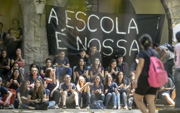 Secundaristas: a potência das novas ocupações