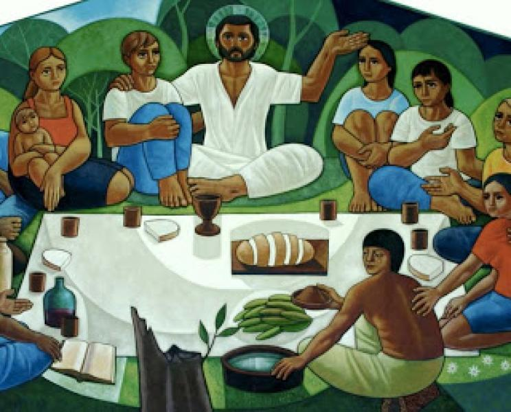 Jesus Cristo é um 'rei' pobre, misericordioso e servidor! (Lucas 23,35-43) [Itacir Brassiani msf]