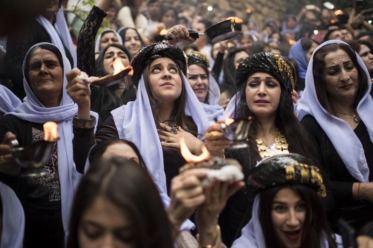 Alvo de genocídio, comunidade yazidi celebra Ano Novo no Iraque