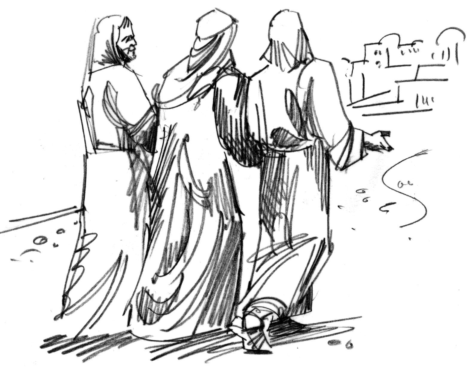 Os discípulos no caminho de Emaús (Lucas 24.13-35) [Renato Küntzer]