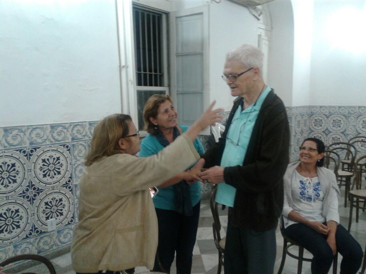 Carlos Mesters se recupera e já visita grupos de estudo