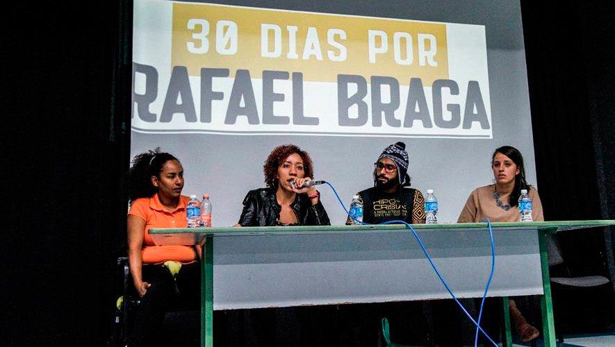 30 dias por Rafael Braga: para ninguém esquecer que não foi por Pinho Sol, foi racismo