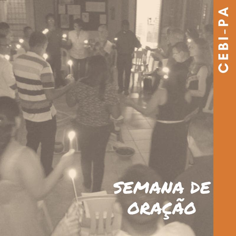 CEBI-PA Semana de Oração pela Unidade Cristã