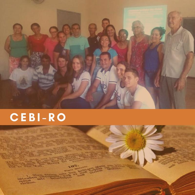 CEBI-RO: Cartas Paulinas e Cidadania, cada encontro é um estopim