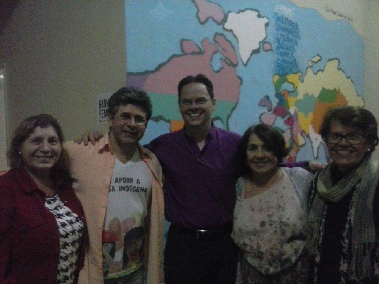 CEBI-RJ se reúne com Lucia Dal Pont e Edmilson Schinelo