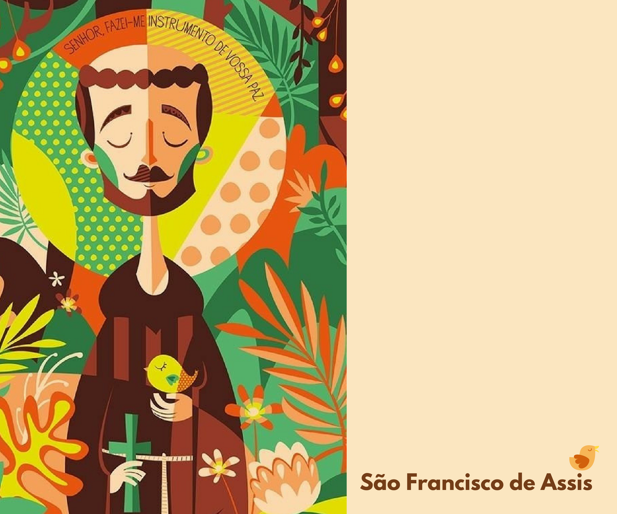 Feliz festa de São Francisco de Assis!