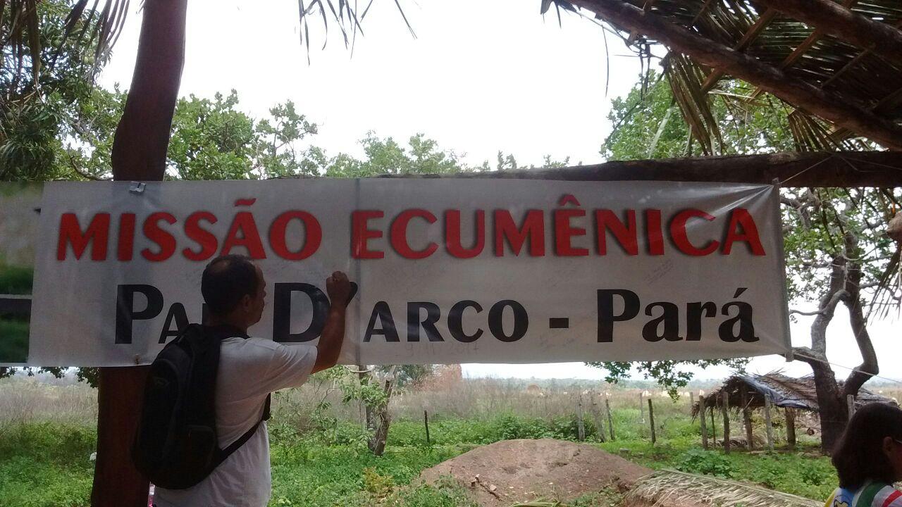 missao ecumenica Pau D'arco