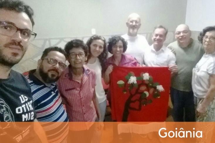 foto de capa: grupo do CEBI-GO