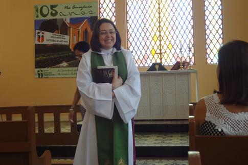 Primeira bispa da América do Sul é anglicana