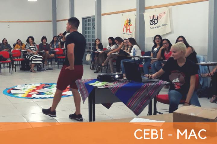 CEBI-MAC: Curso de Educação Popular reúne jovens em mais uma etapa