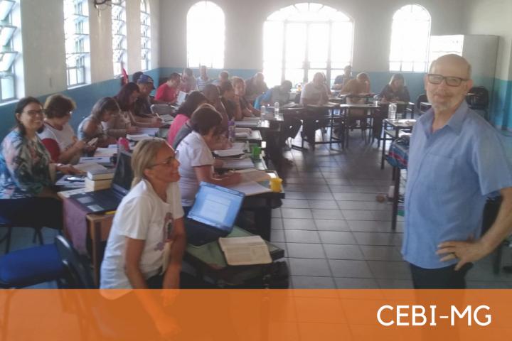 CEBI-MG: Curso de Capacitação de Assessores fortalece a Leitura Popular da Bíblia no Vale do Aço