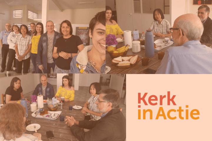 CEBI recebe visita de representante da Kerk in Actie
