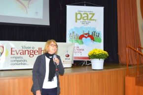Pa. Sílvia Beatrice Genz é a primeira mulher a ocupar o cargo de presidente da IECLB
