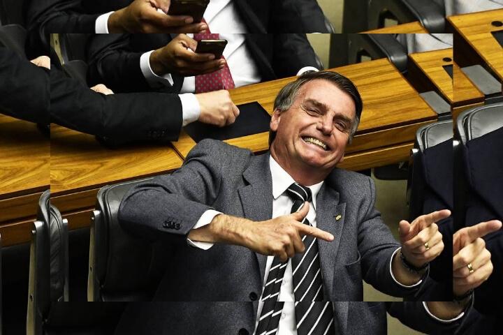 Frente a Bolsonaro