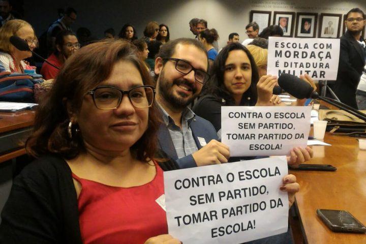 Sindicatos, estudantes e parlamentares barram tramitação de PL Escola Sem Partido