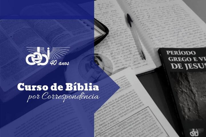 Curso de Bíblia do CEBI: há 19 anos popularizando uma leitura acessível da Bíblia
