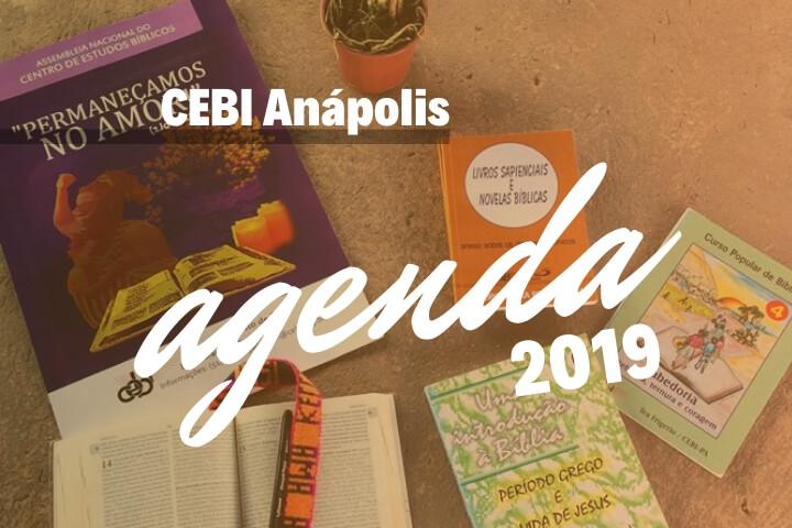 CEBI Anápolis: Confira a agenda de atividades para 2019!