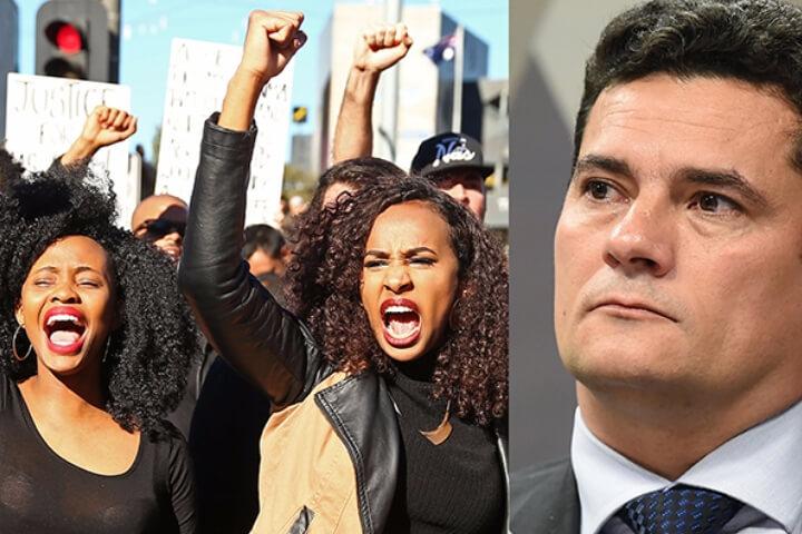 Movimento negro denuncia internacionalmente 'licença para matar' de Moro