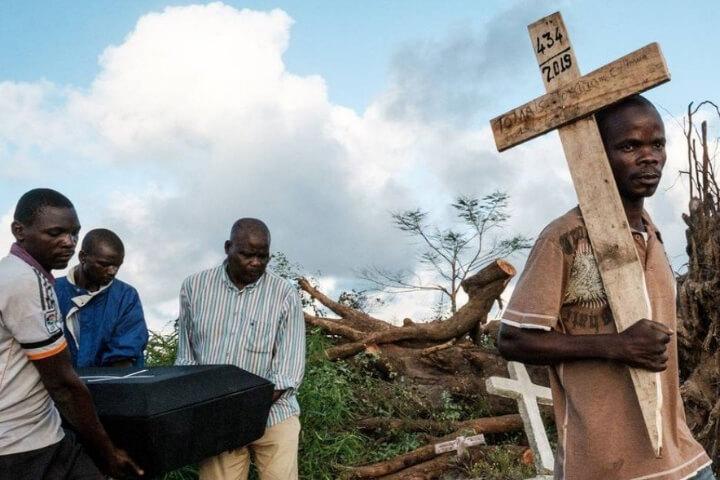 Número de mortos por ciclone em Moçambique chega a 446