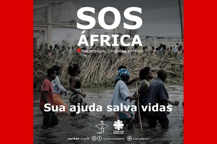 Solidariedade à África: CNBB e Cáritas lançam campanha de apoio às vítimas do Ciclone Idai