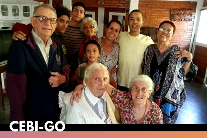 CEBI-GO: Nota de falecimento da companheira Ana maria Melini