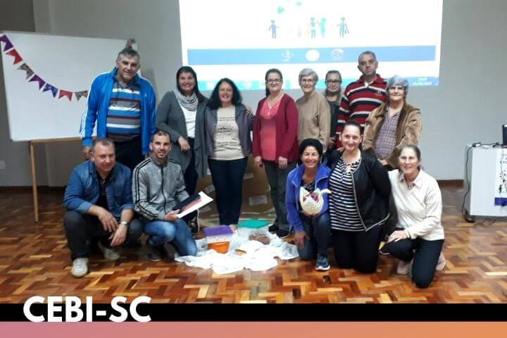 CEBI-SC da Sub-região de Xaxim realiza círculo bíblico sobre a SOUC