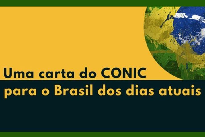 #VamosEsperançar: CONIC lança carta aberta para o Brasil dos dias atuais